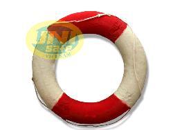 Phao tròn trắng đỏ loai rẻ P001