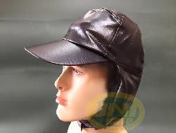 Mũ da lót nỉ giữ ấm Mv008b