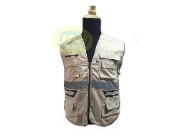 Áo gile bảo hộ phản quang túi hộp A005