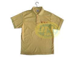 Áo phông đồng phục vải cá sấu A007