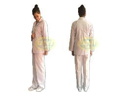 Áo công nghệ nam,nữ vải lon thường A004tc