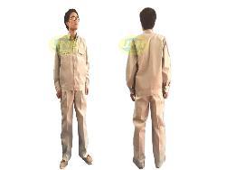 Quần áo bảo hộ vải kaki Nam Định các mầu Qa002