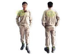 Quần áo bảo hộ túi hộp vải kaki LDHQ Qa015