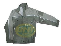 Áo khoác 2 lớp có phản quang vải ldhq A019