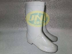 Ủng cao su trắng U005