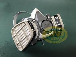 Mặt nạ phòng độc 3M-6100 (gồm 2 phin 6001) BMN03