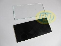 Miếng kính hàn đen / trắng cho mặt nạ hàn Mnh05
