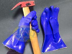 Găng tay cao su lót vải chống dầu G019