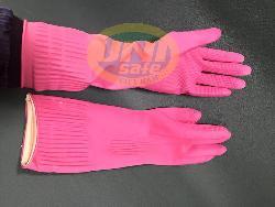 Găng tay cao su dài lien doanh Hàn Quốc G003