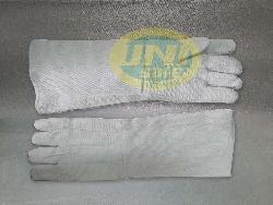 Găng tay Amiang chống nóng, chống cháy loại dài GK001
