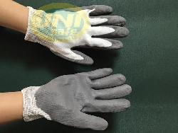 Găng tay sợi EU tráng cao su dầy gv013b