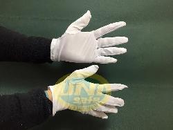 Găng tay vải dệt kim đông xuân cotton trắng Gv004