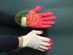 Găng tay sợi tráng cao su VN Gv014
