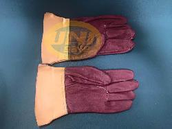 Găng tay da hàn ngắn Việt Nam Gd001