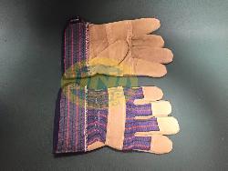 Găng tay vải pha da Gd004