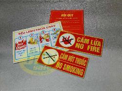 Bộ Tiêu lệnh Phòng cháy chữa cháy CH007T