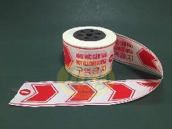 Dải chắn đường trắng đỏ - GTCB002