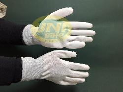 Găng tay tĩnh điện tráng cao su cả bàn GV006