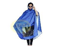Áo mưa choàng vải siêu nhẹ loại tốt  Am031