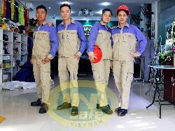 Quần áo bảo hộ cao cấp pha mầu Unisafe Qa020a