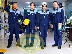 Quần áo bảo hộ chất lượng pha mầu Unisafe Qa020b