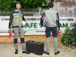 Quần áo bảo hộ cao cấp loại dầy Unisafe Qa022a (hàng đặt)