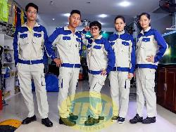 Quần áo bảo hộ cao cấp pha mầu Unisafe Qa020c