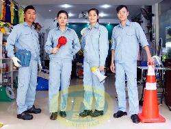 Quần áo bảo hộ túi hộp vải kaki LDHQ dầy Qa012