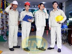 Quần áo bảo hộ vải kaki LDHQ Hàn Quốc loại đẹp Qa005b
