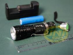 Đèn pin sạc siêu sáng bóng led gọn nhẹ -De017b