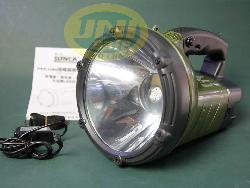Đèn sạc ắc quy to bóng led -De013b