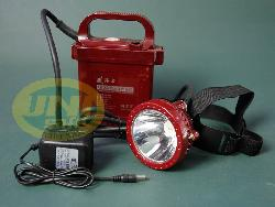 Đèn sạc đội đầu gắn bình ắc quy Led De018