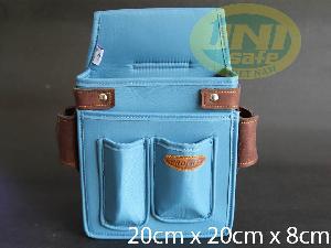 Túi đựng dụng cụ xuất khẩu pha da T02