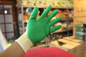 Găng tay phủ cao su xanh sần EU CT7-G02