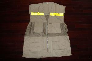 Áo gile túi hộp có phản quang CT7-A03