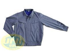 Áo khoác bảo hộ lao động 2 lớp vải kaki LDHQ A033