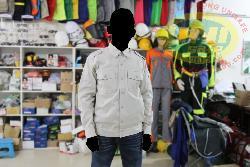Áo bảo hộ Cotton dầy vải Pangrim Hàn quốc ghi sáng Ar11-GS