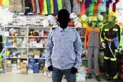 Áo bảo hộ Cotton dầy vải Pangrim Hàn quốc ghi đá Ar11-GD