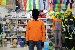 Áo bảo hộ Cotton dầy vải Pangrim Hàn quốc mầu cam Ar11-C
