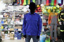 Áo bảo hộ vải pangrim HQ mầu xanh dương AR15-XD